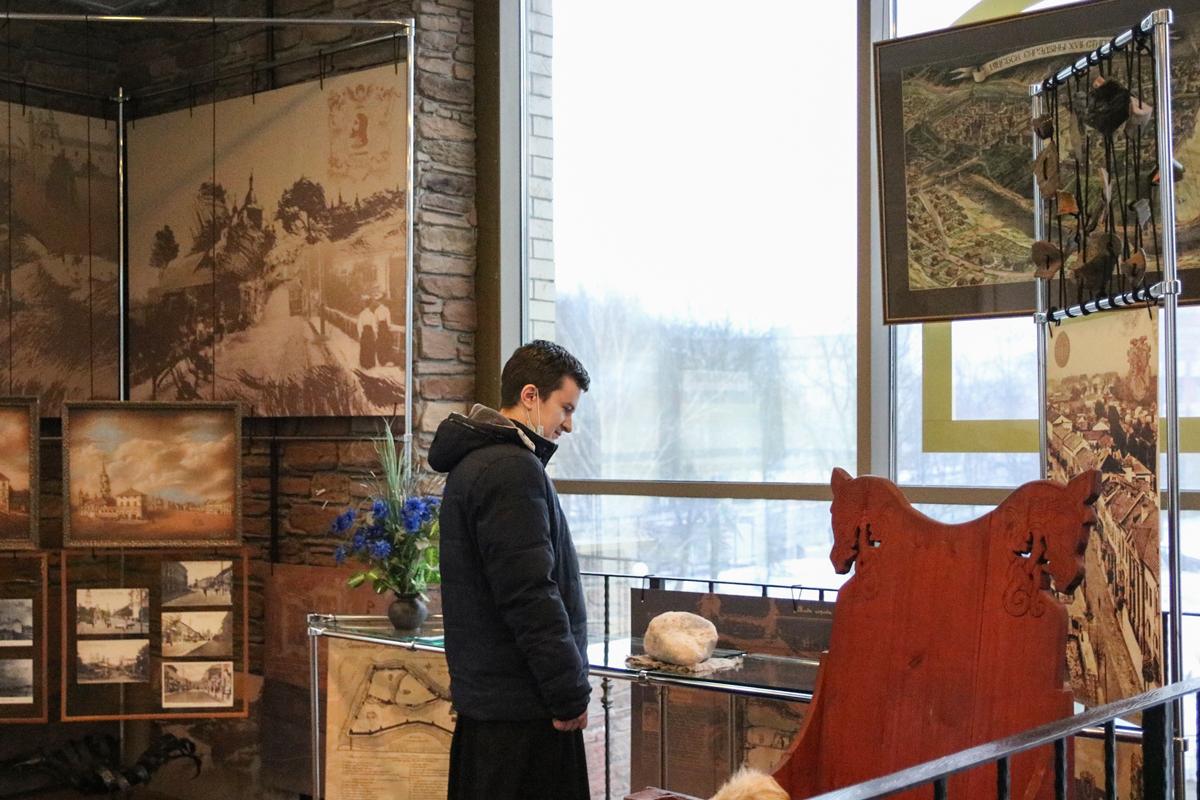 Семинаристы посетили выставочный зал «Духовской Круглик»