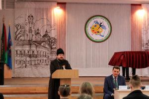 Первый проректор семинарии принял участие в заседании Школы Активного Гражданина, которое прошло в гимназии №3 города Витебска