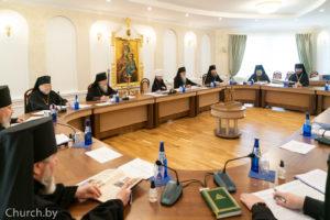 Ректор семинарии принял участие в очередном заседании Синода БПЦ