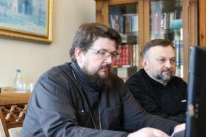 Проректоры семинарии приняли участие в Международной научно-богословской конференции «Духовное образование в России (1721-2021): исторические и культурные контексты»