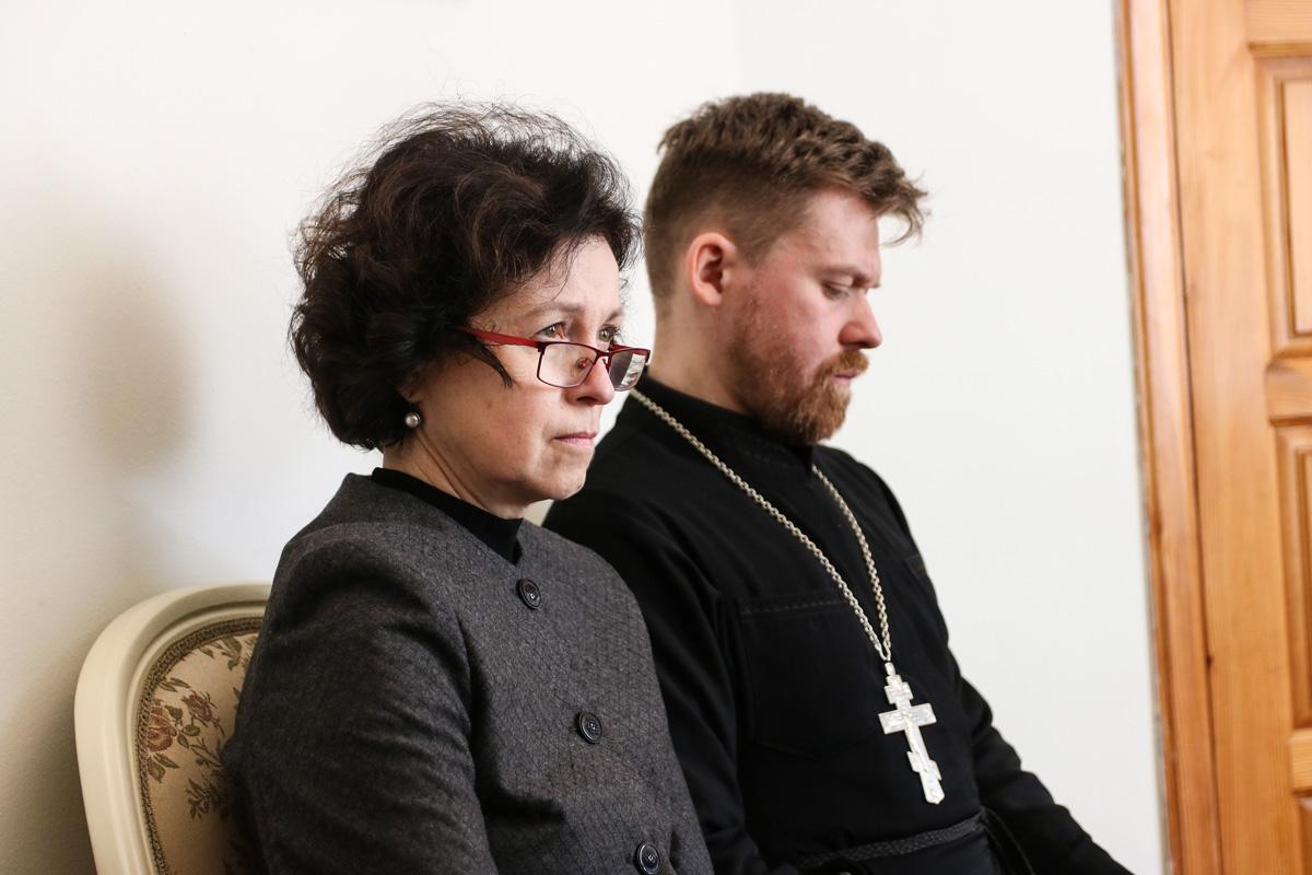 Проректорский состав семинарии принял участие в онлайн-семинаре, посвященном вопросам организации образовательного процесса в духовных учебных заведениях Республики Беларусь