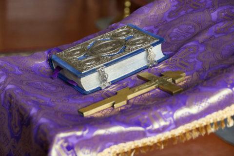 В храме святых равноапостольных Мефодия и Кирилла состоялась общая исповедь студентов