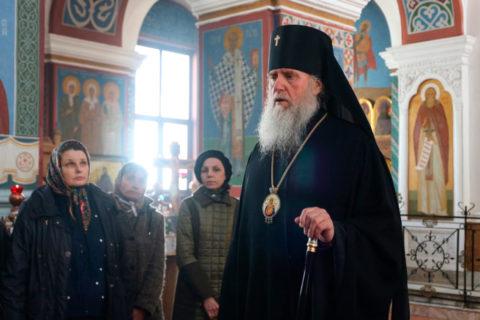 В Великий Четверток ректор семинарии совершил Литургию в Свято-Покровском соборе города Витебска
