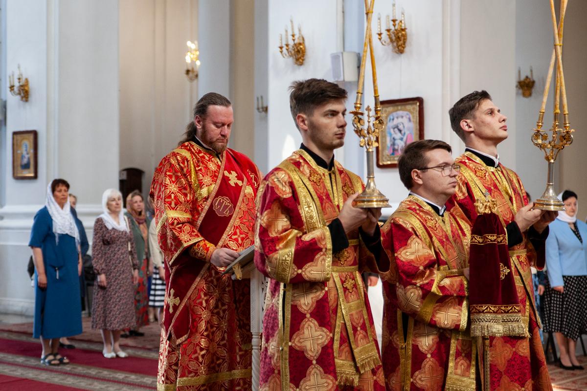 Торжественный выпускной акт в Витебской духовной семинарии (обновляется)