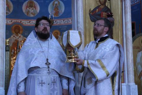 Богослужение в день Троицкой-родительской субботы.