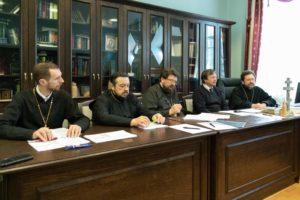 Проректорский состав семинарии принял участие в совещании ректоров и проректоров духовных учебных заведений Белорусского Экзархата