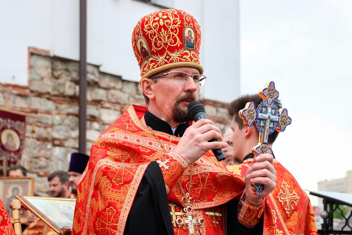 Представители семинарии приняли участие в крестном ходе, посвященном 800-летию святого благоверного князя Александра Невского