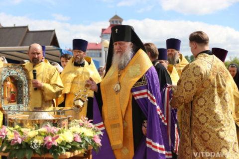 В Витебск доставлен ковчег с мощами святого благоверного князя Александра Невского