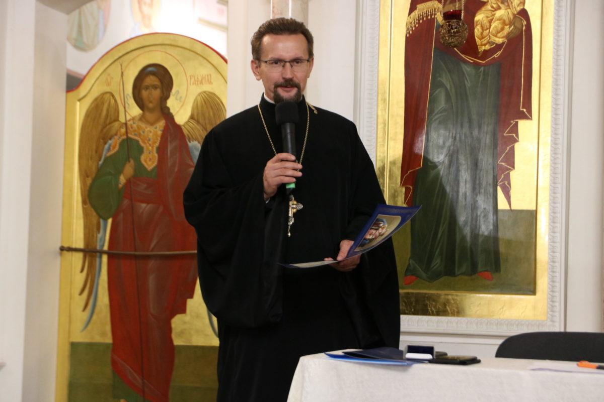 Проректорский состав семинарии принял участие в собрании духовенства Витебской епархии
