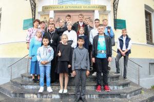 Семинарию посетили воспитанники Детского дома города Витебска