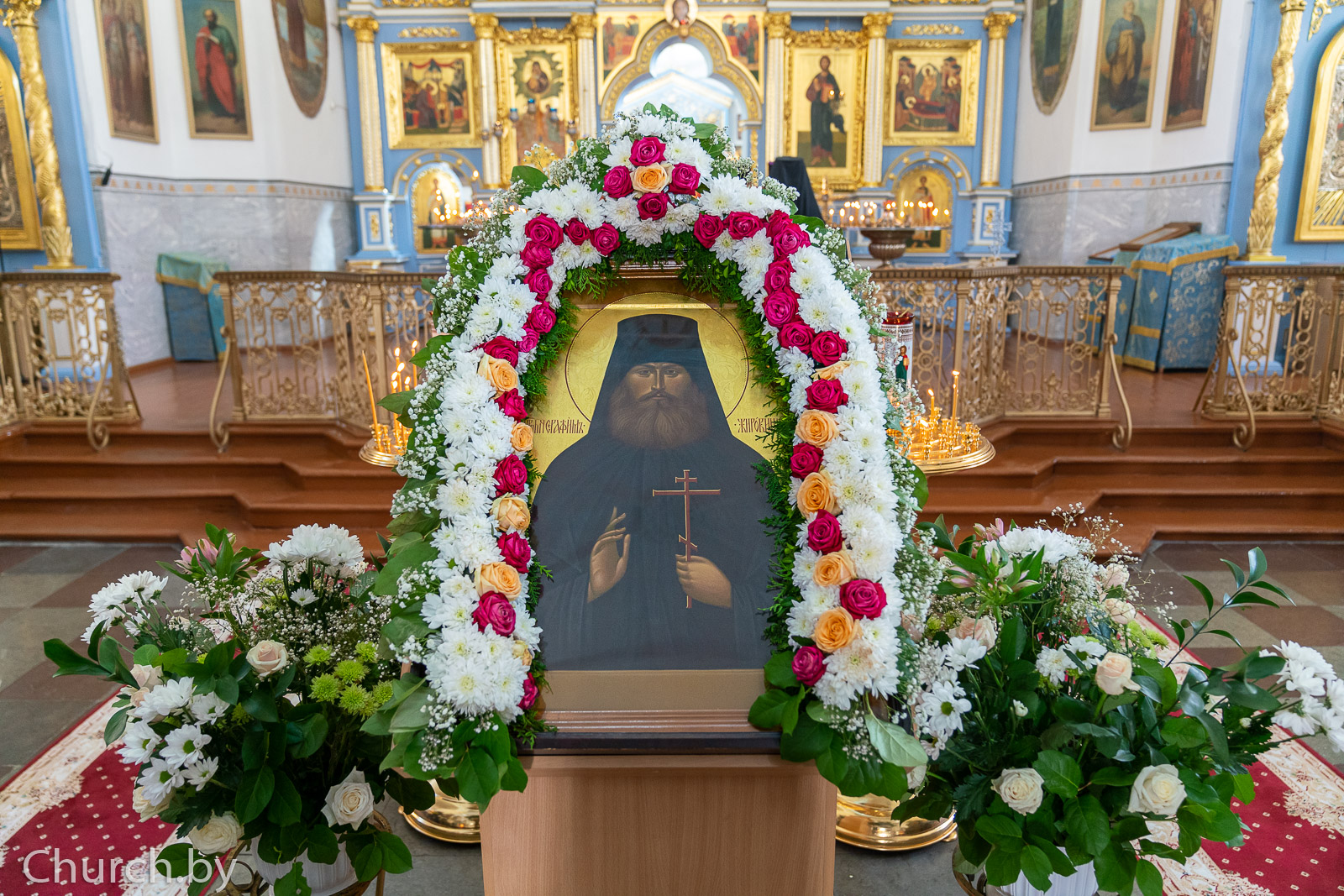 Первый проректор семинарии принял участие в торжествах в честь преподобномученика Серафима, архимандрита Жировичского