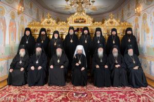 Ректор семинарии принял участие в заседании Синода Белорусской Православной Церкви