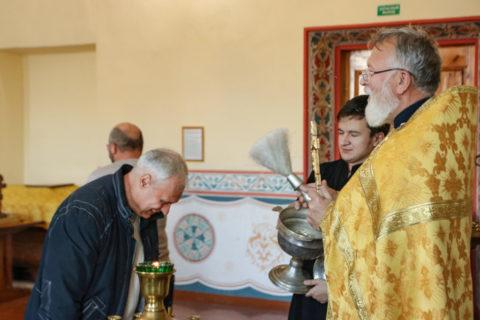 С молебного пения начались занятия учащихся богословско-педагогического отделения семинарии
