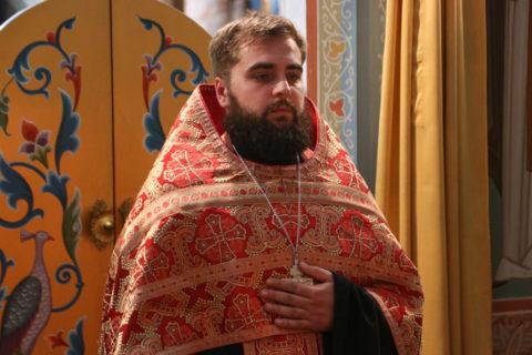 В праздник Усекновения главы Иоанна Предтечи преподаватель патрологии совершил Литургию