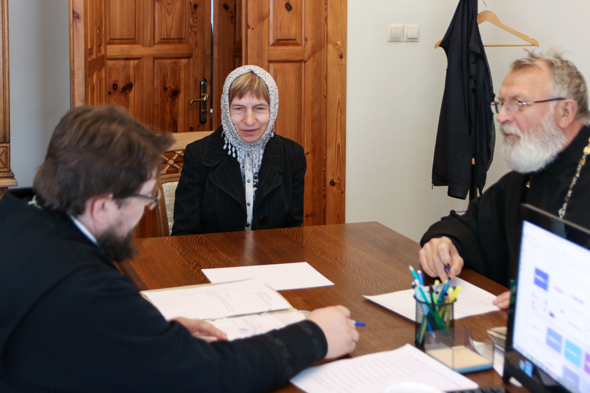 В 2021 году 12 человек были зачислены на богословско-педагогическое отделение при Витебской духовной семинарии