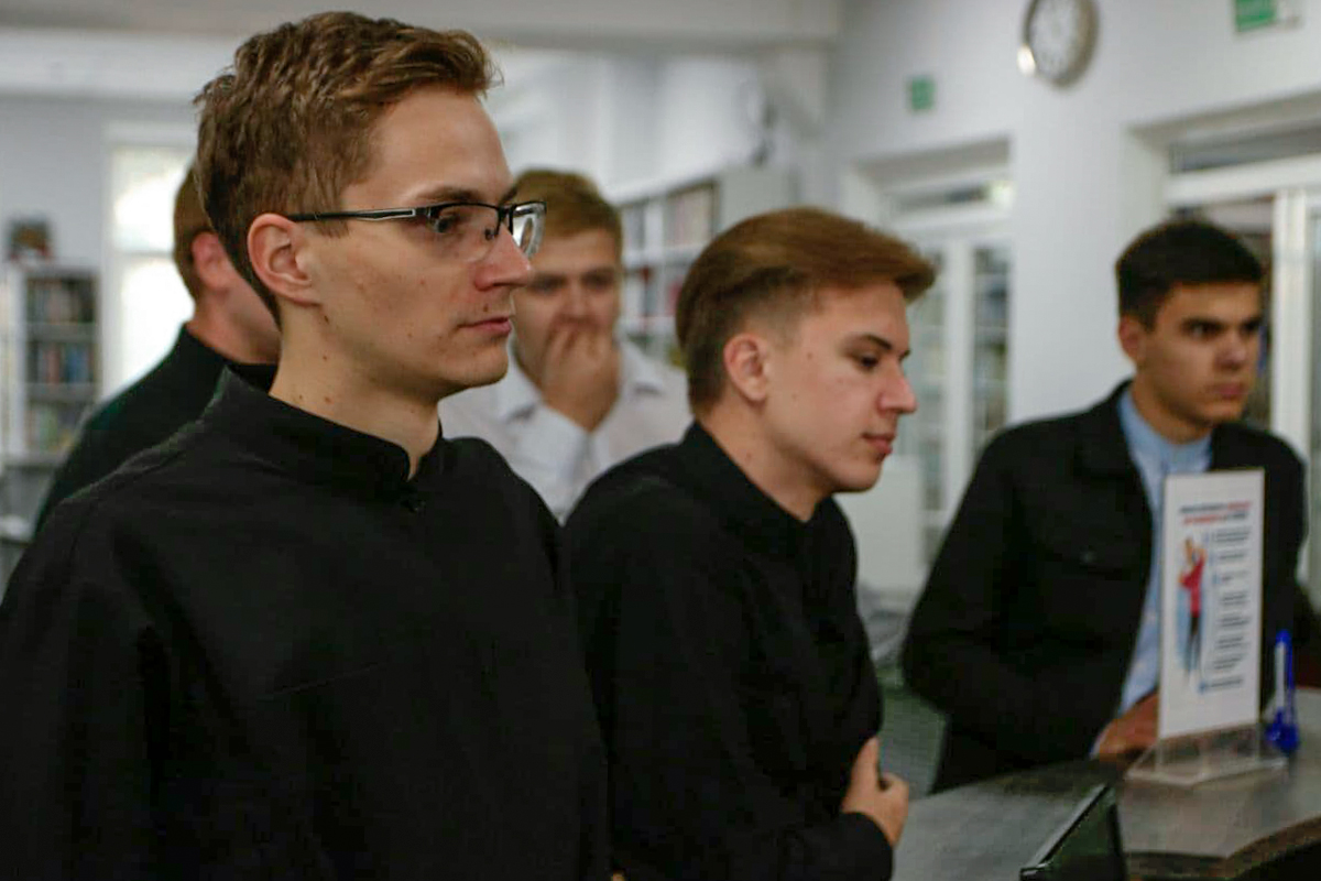 Семинаристы посетили Витебскую областную библиотекуимени В.И.Ленина
