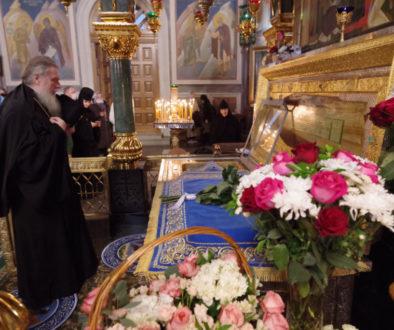 В праздник Покрова Пресвятой Богородицы ректор семинарии сослужил митрополиту Нижегородскому и Арзамасскому Свято-Троицком Серафимо-Дивеевском монастыре